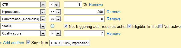 The Ultimate AdWords Filter for Optimizing Your PPC Account